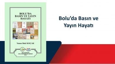 Photo of Bolu'da Basın ve Yayın Hayatı