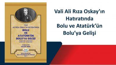 Photo of Bolu Valisi Ali Rıza Oskay Hatıratı