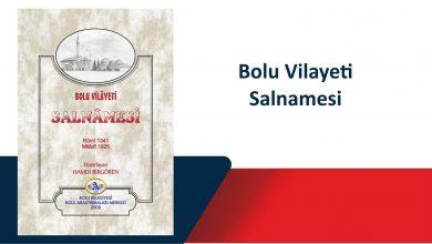 Photo of Bolu Vilayeti Salnamesi