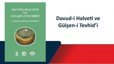 Photo of Davud-i Halveti ve Gülşen-i Tevhid'i