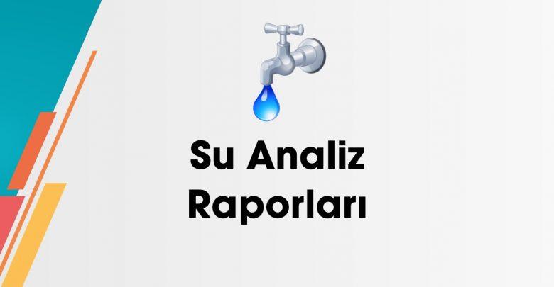 Photo of 08.08.2020 Su Analiz Raporu