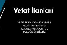 Photo of 22.02.2020 Vefat İlanları