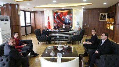 Photo of Göynük heyetinden Başkan Özcan'a ziyaret