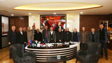 Photo of Sağlık Mahallesi heyetinden Başkan Özcan'a ziyaret