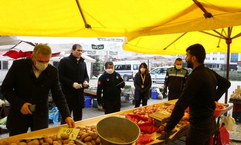 Photo of Semt pazarlarına ve marketlere denetim