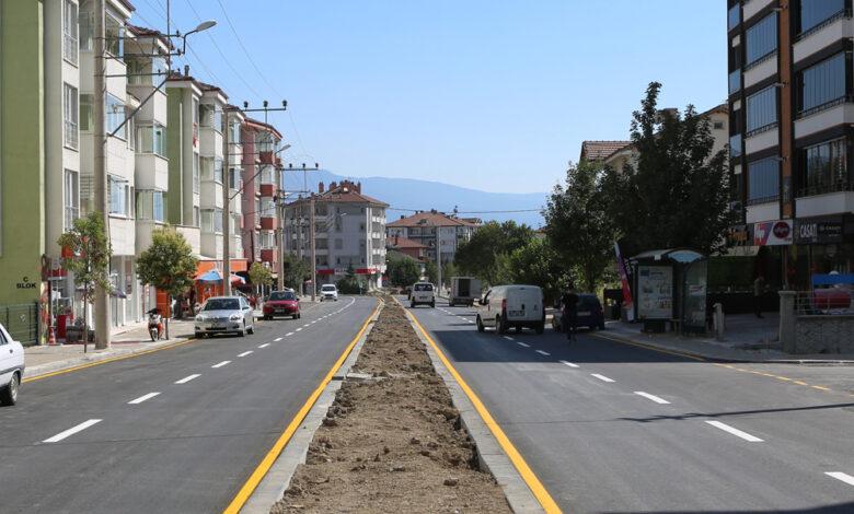 Photo of Şehir içi ulaşım ağı yenilenen yol çizgileri ile artık daha güvenli